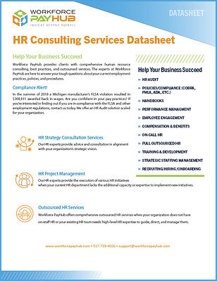 HR Consulting Services Guide