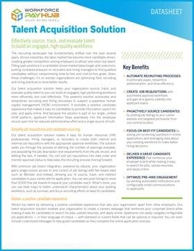 Talent Acquisition Solution Guide
