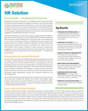 Michigan HR Solution Guide